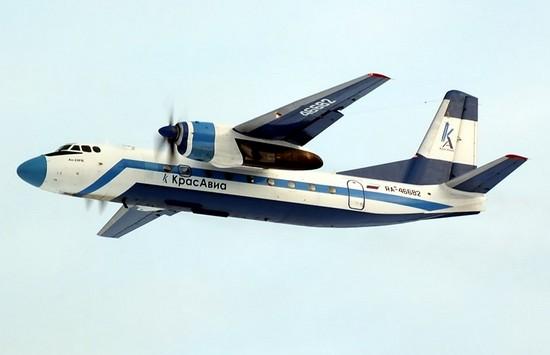 Самолет авиакомпании КрасАвиа